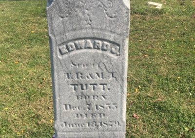 Tutt Cemetery, Clay Township, St. Joseph County, IN