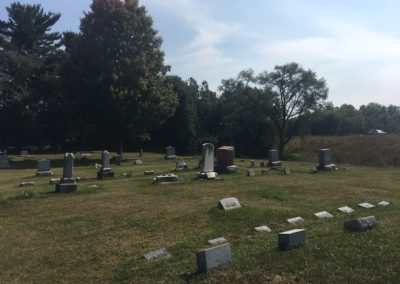 Ullery Cemetery, Clay Township, St. Joseph County, IN